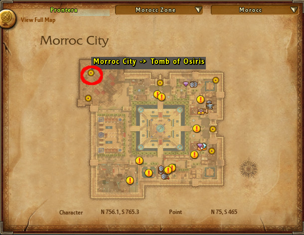 Ragnarok 2 Osiris Dungeon