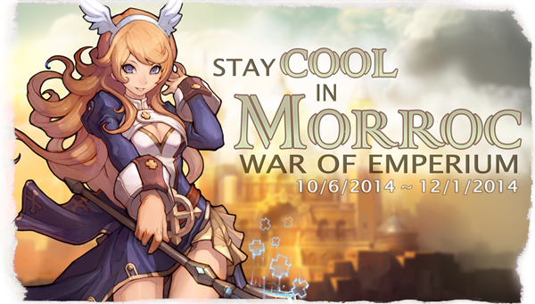 Stay Cool Morroc WoE