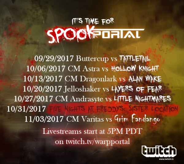 SpookPortal Schedule 3