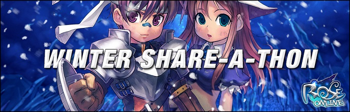 ROSE Online - Events - Winter Share-A-Thon