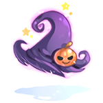 Witch's Pumpkin Hat