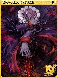 Angry Dracula Card