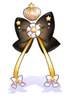 Costume Crowned Princess Ribbon