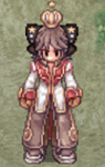 Costume Crowned Princess Ribbon Sprite