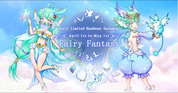 Fairy Fantasy Image APril Gacha SEA