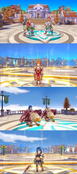 ROM Dragon Knight and Royal Guard