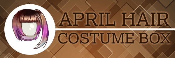 April Hair Costume Box