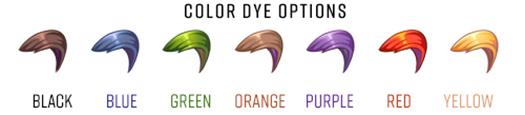 Cowlick Colors