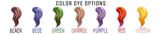 Pony Tail Colors