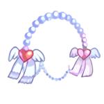 Costume Heart Wing Headband
