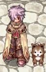 Costume Desert Wolf Baby Sprite