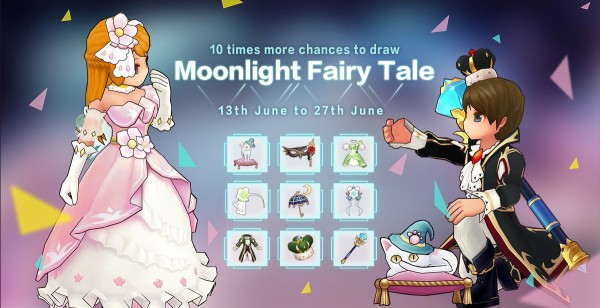 Moonlight Fairy Tale Image