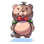 Costume Bear Backpack