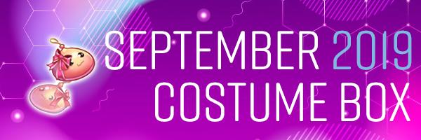 September 2019 Costume Box