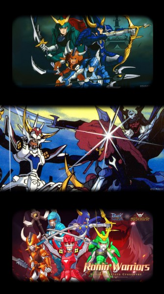 Ronin Warriors Crossover