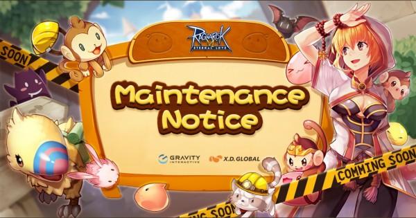 ROm maintenance notice