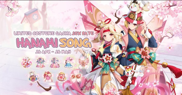 ROM Hanami Song Costume