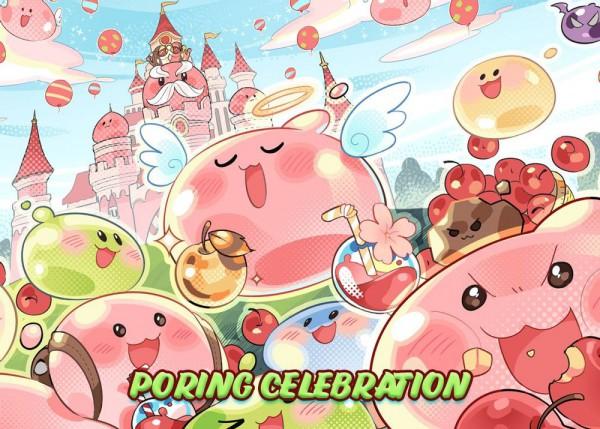ROM Poring Celebration Banner